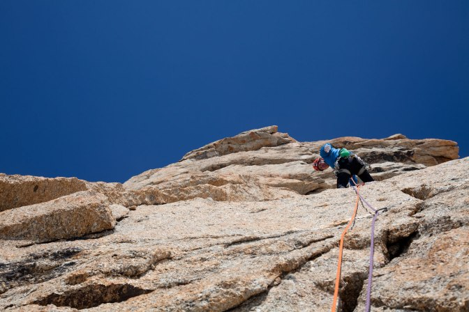 Myself on a perfect hand crack pitch. Lovely granite hey!